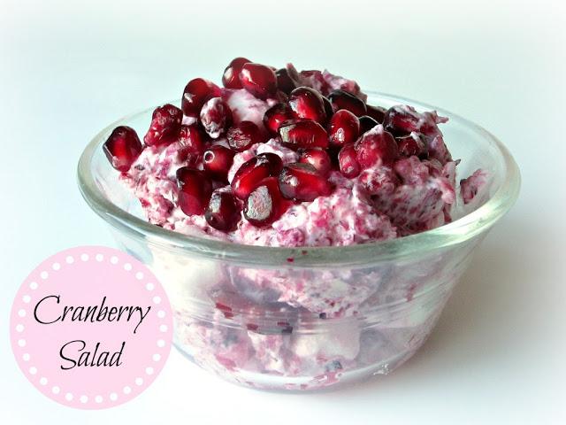 http://lovetobeinthekitchen.com/2013/11/19/cranberry-salad/