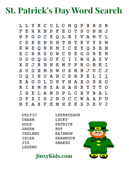 St-Patricks-Day-Word-Search