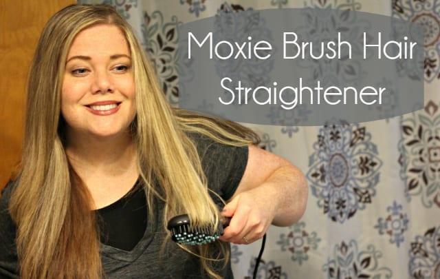 Moxie Brush Hair Straightener