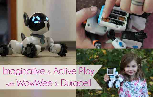 Imaginative and Active Play with WowWee and Duracell