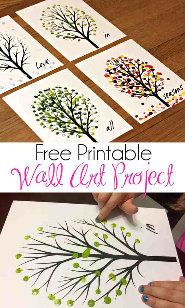 Love in All Seasons – Free Printable Art Project 6