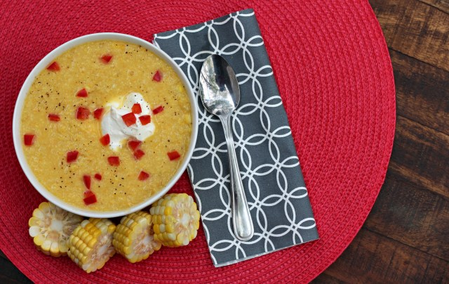 Sunshine Sweet Corn Soup 3