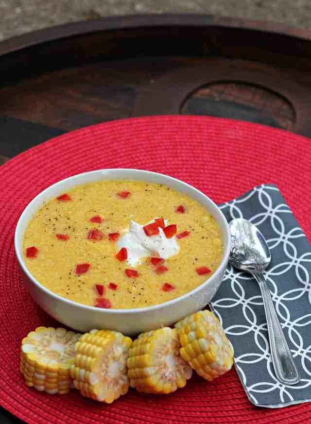 Sunshine Sweet Corn Soup 4