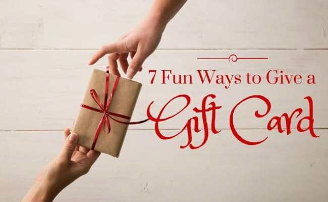 7 Fun Ways To Give A Gift Card Mom Needs Chocolate