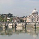 Crossing the Tiber