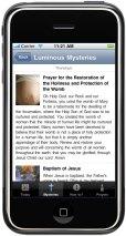 ProLife Rosary iPhone App-Luminous