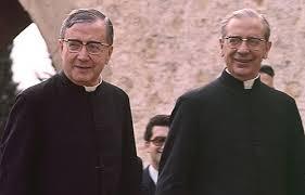 St. Josemaria with Fr. del Portillo