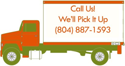 Call Us! We'll Pick It Up graphic