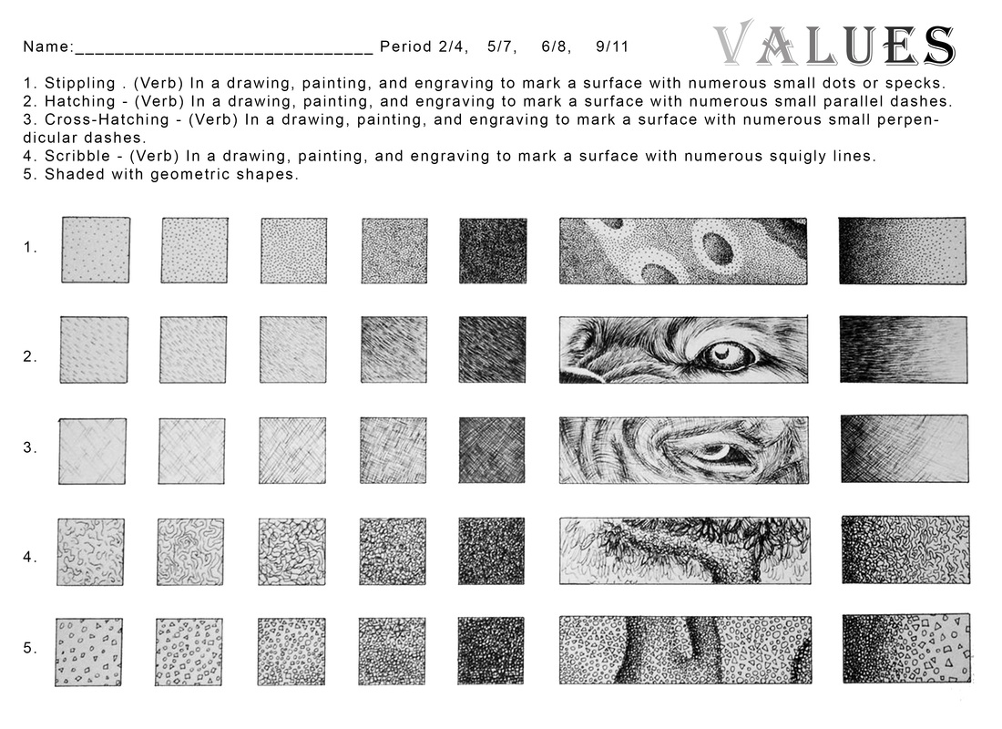 Value Drawing Worksheet Todd Stahl 45 Revolutions Per