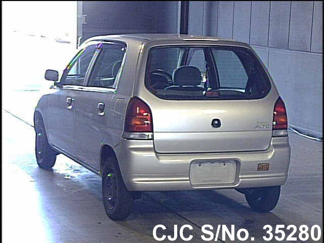 2000 Suzuki Alto Silver For Sale  Stock No 35280