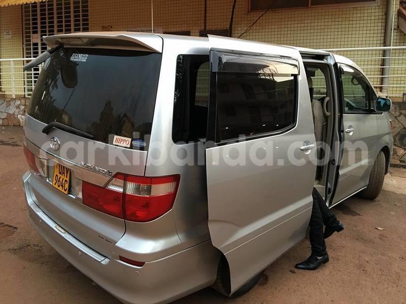 brand new toyota alphard for sale grand avanza veloz 1.3 buy used silver car in kampala uganda carkibanda