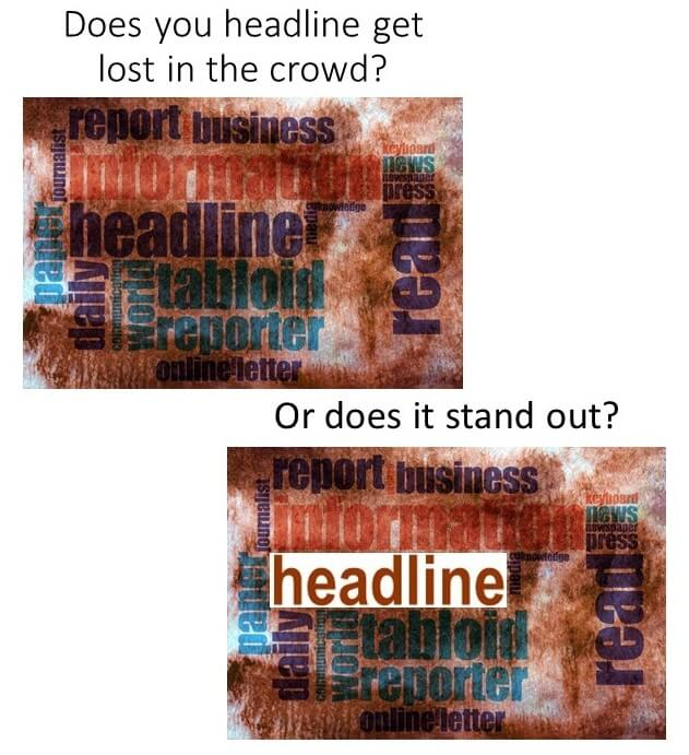 standout headlines