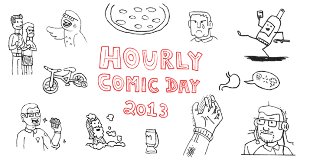 Houly Comics Day 2013 Banner
