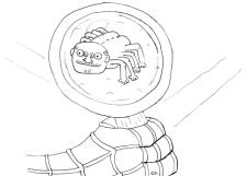 Inktober Day 4: Spider-Man