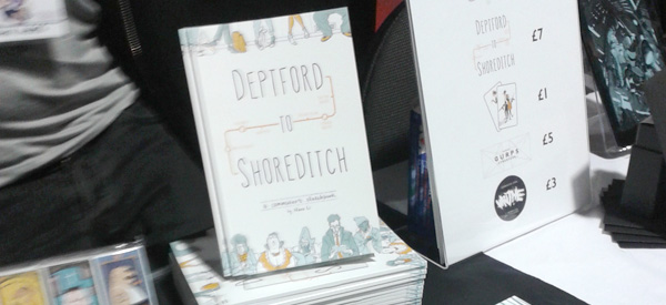 Deptford to Shoreditch by Nana Li