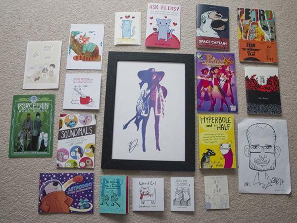 This year's haul. All names and artists noted through the link.