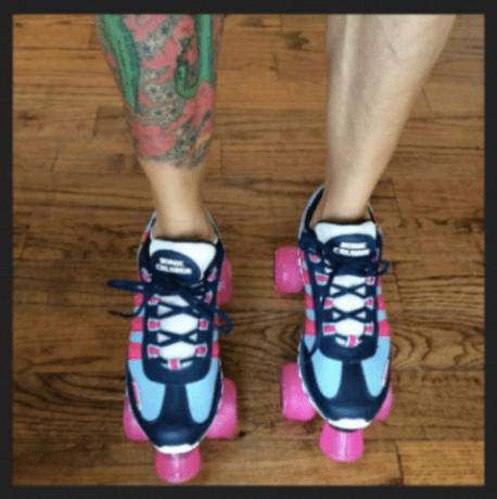 sneaker roller skates