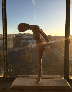 Maquette at Sunset