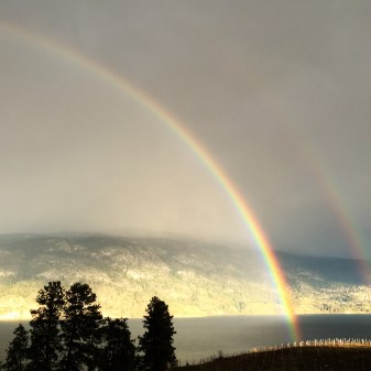 Double Rainbow over Kaleden, BC