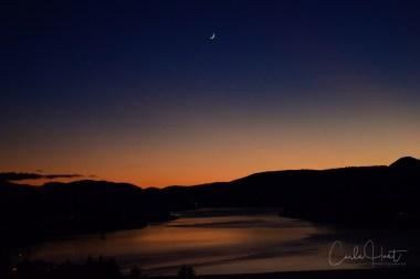 Sunset over Kalamalka Lake