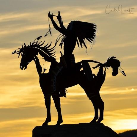 Sunset at Spirit Ridge, Osoyoos, BC