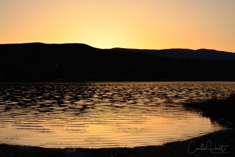 Sunset on Swan Lake, Vernon, BC