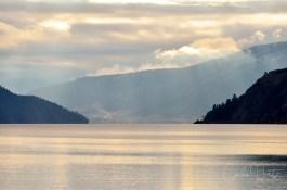 Nice afternoon light on Kalamalka Lake, Coldstream, BC