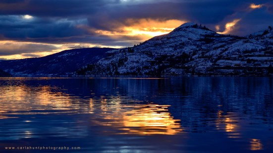 Kalamalka Lake Sunset, Coldstream, BC