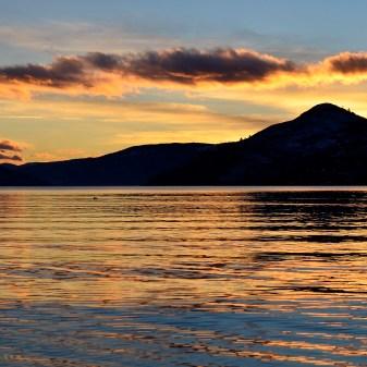 Kalamalka Lake Sunset, Coldstream, BC