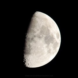 Last week's moon over Vernon, BC