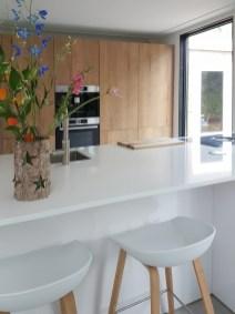 interieurontwerp keuken hout en wit