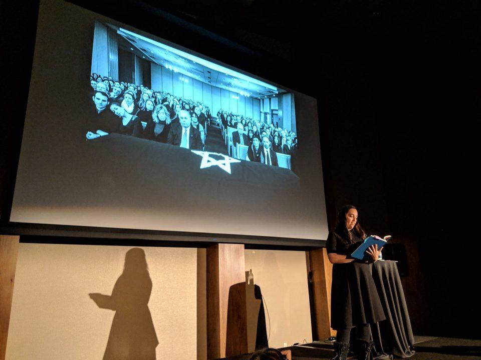 Nancy Borowick Presenting The Family Imprint.  Alberta Photographer