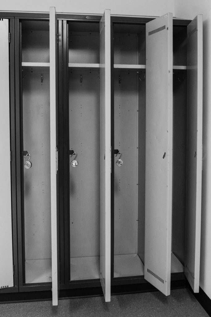 Lockers have been emptied Documentary Photo Essay