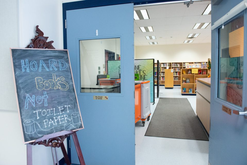The quietest the school library has been Documentary Photo Essay