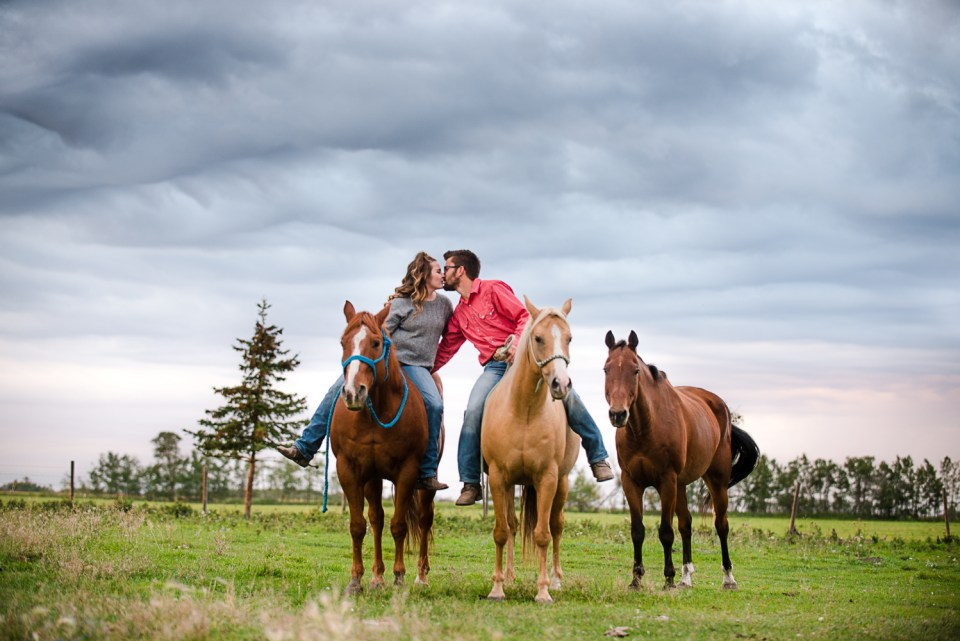 Engagement session with horses Planning Your 2020 Wedding During Covid-19