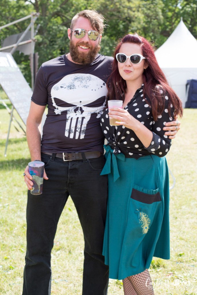 Portrait at the Fling Festival 2017 | Carla Watkins Photography for carlalouise.com