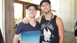 w/ Kevin from A Day to Remember at Warped Tour 2011