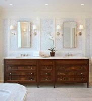 colleen mcgill bathroom bryant sconces double vanity sink marble