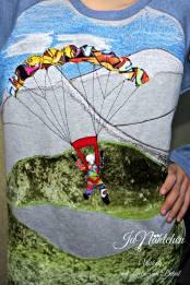 kostenlose Applikationsvorlage Freebook Skydiver