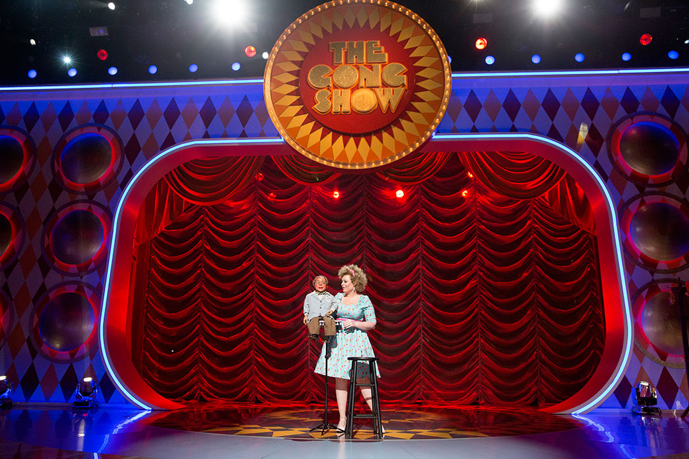 Carla and Cecil appear on the Gong Show!
