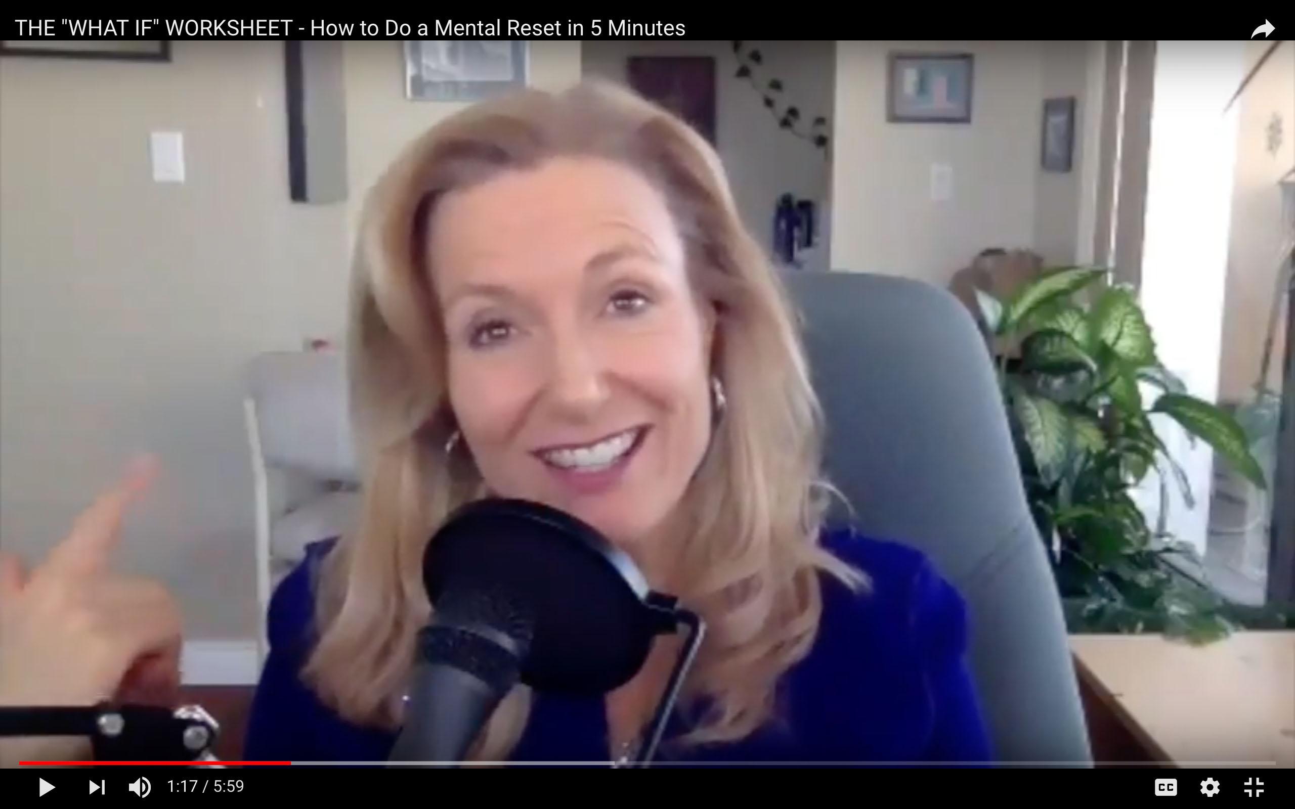Carla Rieger 2 What Ifs Worksheet Video Still