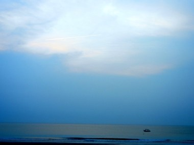 Morning view of Cherating beach