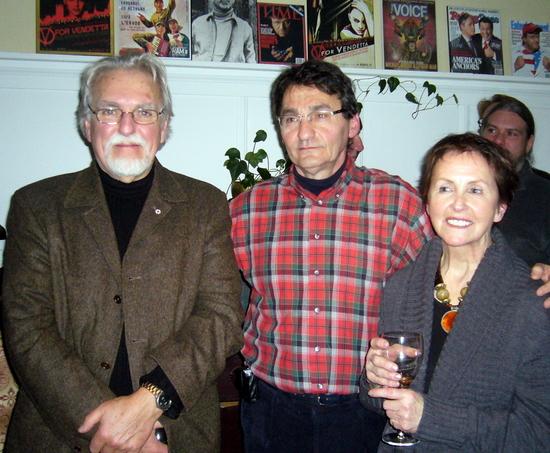 Jean-Claude Marsan, Richard Bergeron et Denise Rochefort
