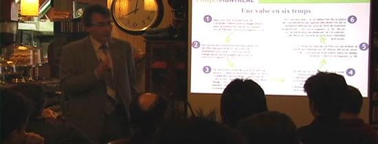 Vidéo de l'exposé de Richard Bergeron sur le PDU du Plateau