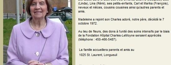 Adieu grand-maman