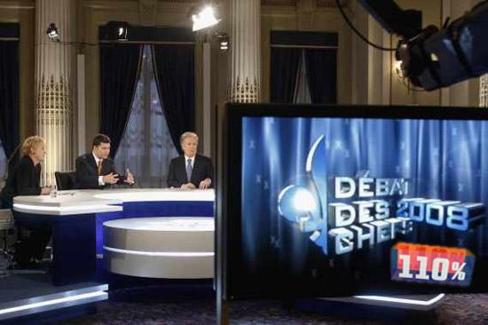 débat des chefs 2008