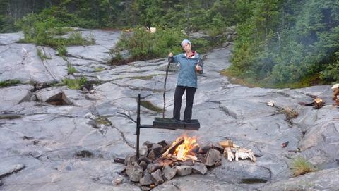 feu de camping