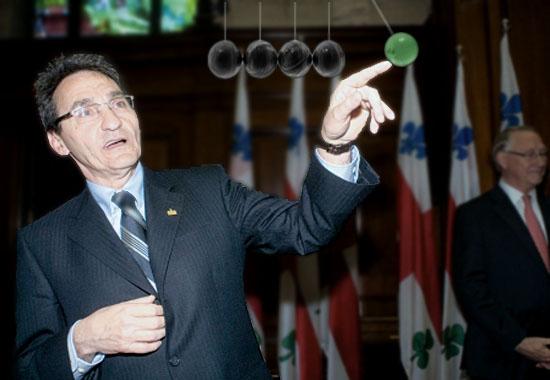 Richard Bergeron active quelques billes pour Montréal!