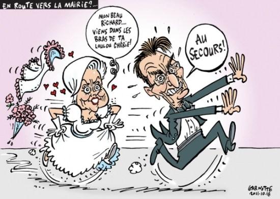 Ricahrd Bergeron et Louise Harel