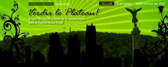 Verdir le Plateau-Mont-Royal